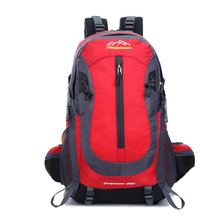 FEEL PIONEER Waterproof Nylon Backpack Men Women Sport School Back Bags Camping Hiking Pack Ski backpack rock climbing backpack(China)