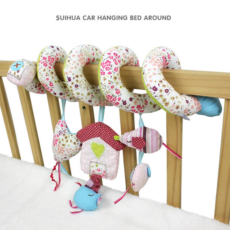 Spiral Stroller toy rattle baby toy 6