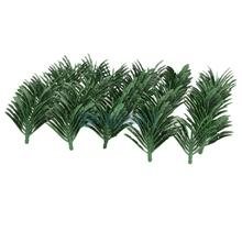 Traveller's Palm Trees Model Train Railroad Scenery 1:200 50pcs Green