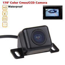 Waterproof HD Car Rear View Camera 170 Degree Wide Viewing Angle For BMW VW Audi Reverse Backup Rearview Camera Parking Monitor