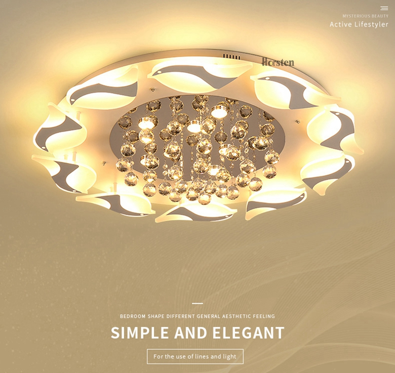 Modern Luxury Bird Crystal Ceiling Lamps With Remote Controller Dia957555cm Crystal Ceiling Chandelier For Living Room Bedroom (1)