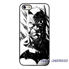 Batman Cool Sketch Comic Art  mobile phone cover case for iPhone 5 6S Plus 7 7Plus Samsung Galaxy S5 S6 S7 edge S8 plus