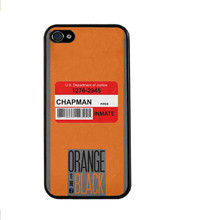 Orange Is The New Black Cover Case for iPhone 4 4S 5 5S 5C 6 6S Plus For Galaxy S3 S4 S5 Mini S6 Edge A3 A5 A7 2015 Note 2 3 4 5