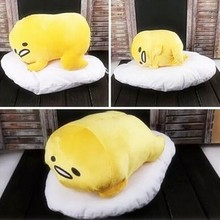 Free shipping udetama lazy egg Eggs jun Egg yolk brother large doll pillow lazy balls stuffed toy for christmas gift 2017