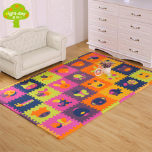 Brand Baby Eva Foam, Play Mat Kids Educational Rugs Children's Mats Baby Playing Soft Crawling Mats Puzzle For Children Gym Game Blankets(China)