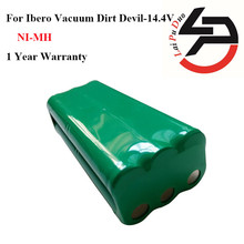 Hot Sale! High Quality Replacement Battery 14.4V  2000mah For ibero Vacuum Dirt Devil: 0606004, M606
