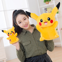 Free Shipping 23cm Special Offer Pikachu Plush Toys High Quality Very Cute Plush Toys For Children's Gift(China)