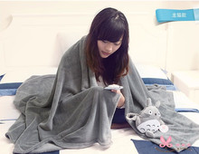 Totoro adult blankets,Cute chinchillas air conditioning blanket, home with blankets, bedspreads, sheets, shawls