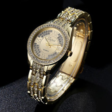 LVPAI Crystal Watches Top Brand Luxury Stainless Steel Diamond Oval Chronograph Quartz Watch Unisex for Woman/men Free Air Mail!(China)