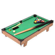 "27"" Classic mini american pool table billiard tabletop pool table toy table game for kids-HG202D(China)"