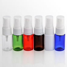 10ml Empty PET Spray Bottles,Mini Small Mist Perfume Vial,Perfume Atomizer, DIY Make up Sample container 100Pcs/lot