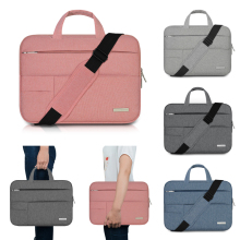 New Laptop Bag 11.6 12.5 13.3 14 15.6 inch Shoulder Bag Notebook Case for Dell Asus Acer Hp Lenovo Xiaomi Waterproof Handbag(China)