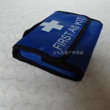 Wholesale  New 18 pcs Items  first aid kit Family travel emergency car first aid kit outdoor Travel Survival  medical box