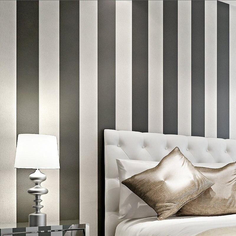 beibehang Home Decoration of wall paper Modern Vertical Stripe Wallpaper Children Room Wall Paper Roll papel de parede PVC Kids<br>
