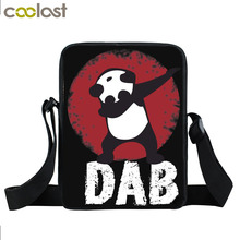 Buy Funny Dabbing Panda Unicorn Mini Messenger Bag Women Handbags Hip Hop Shoulder Bag Boys Girls Crossbody Bags Children Gift Bags for $7.75 in AliExpress store