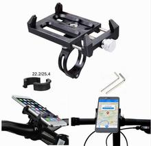 GUB Bike Bicycle Motorcycle Scooter Handlebar Mount Holder Phone Holder For 3.5 6.2 inch MP4 GPS 31.8 25.4 22.2mm handlebar(China)