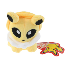 2015 New Plush Toys 12cm 1 Piece Jolteon Eevee Genius Stuffed Toy for Kids Birthday Gifts Children Presents