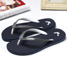 Mens summer fashion flip flops men casual waterproof outdoor beach sandals male concise soft home slippers