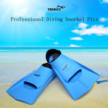 Profession Soft Snorkel Swimming Fins Diving Flippers Short Monofin Snorkeling Foot Shoes Nadadeira Water Sport Dive Equipments