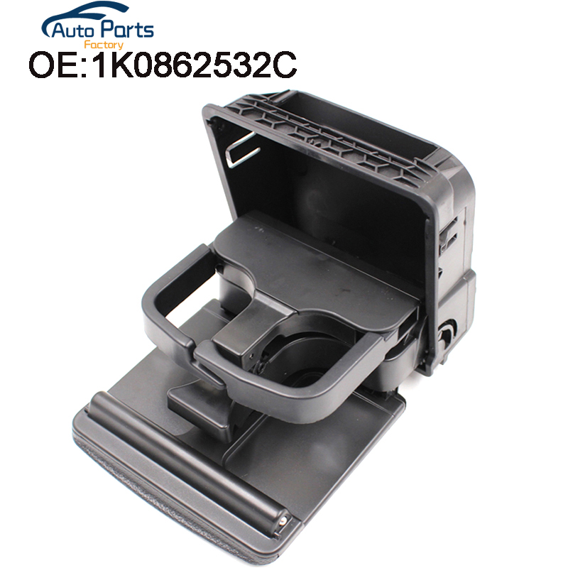 Drink-Holder Central-Console-Armrest Rear-Cup MK5 Golf Mk6 for V-W J Etta 6-mkvi/1k0862532/1k0862532c title=