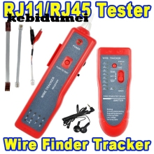 kebidumei RJ11 RJ45  Cat5 Cat6 Telephone Wire Tracker Tracer Toner Ethernet LAN Network Cable Tester Detector Line Finder