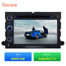 Seicane Android 7.1.1 for 2007-2010 Ford Expedition Radio GPS with 16G Flash 3G WiFi Bluetooth Mirror Link OBD2 Rearview Camera(China)