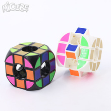 Micube Rounded Void Pillowed Cube 3x3x3 Speed Cube Cubo Magico Educational Toys Magic Cube Puzzle Black/white(China)
