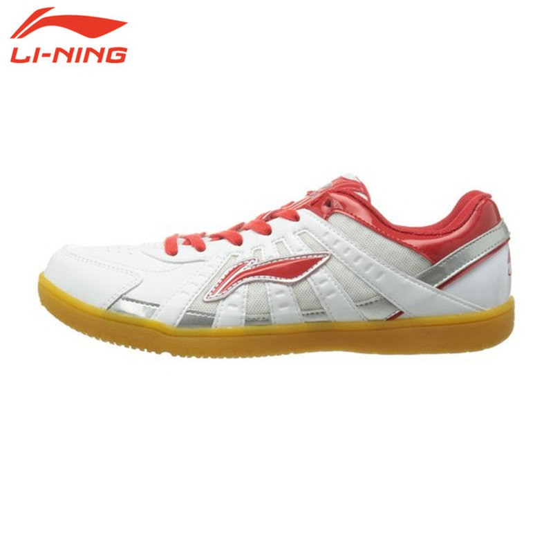 Li Ning Original Brand Men men Table tennis shoes room Training Shoes White Breathable Sneakers ASNH009<br>