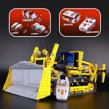 Lepin 20008 Technic MOTORIZED BULLDOZER Building Blocks Electric Motors Power Functions Model Bricks Compatible With lepin 8275(China)