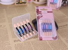 Eye Shadow Applicator Sponge Brushes/Tips use for mirror pigment powder instrument(China)