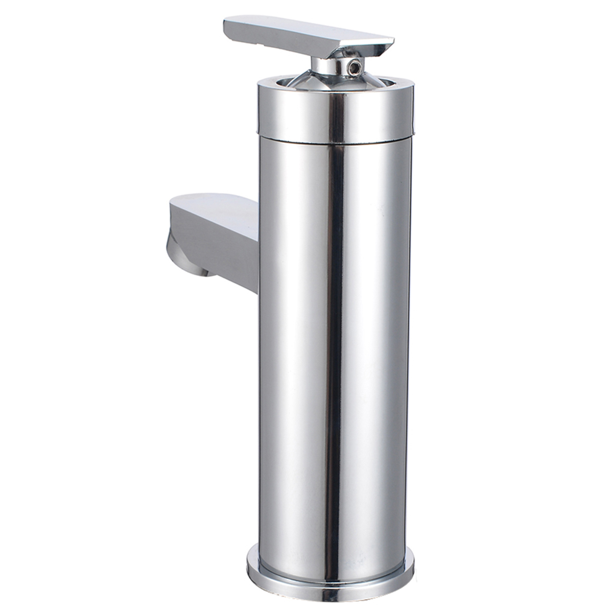 Mayitr Waterfall Bathroom Faucet Basin Sink Faucet Chrome Single Handle Mixer Tap Cold Hot Water For Kitchen Bathroom Supplies