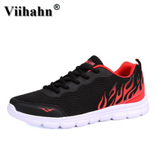 Viihahn Mens Athletic Sports Shoes Outdoor Sneakers Spring Summer Breathable Mesh Lace Up Running Shoes Light Walking Shoes
