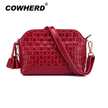 Cowherd Spring Women Bag Luxury Female Genuine Leather Top Layer Cowskin Handbags Ladies Brand messenger bag 100% all cowhide(China)