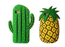Cool Summer VS Pineapple with Sunglass silicon case for iPhone 5 5s 6G 7G 6s/6p Mobile Phone Case Back Cover Shell Free Shipping(China)