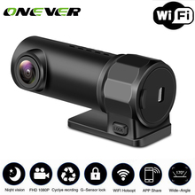 Onever Dash Camera WIFI Wireless Car DVR Camera Digital Registrar Video Recorder DashCam Road Camcorder APP Monitor Night Vision(China)