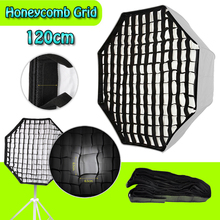 "Octagon Honeycomb Grid 120cm / 47.2"" Softbox Soft Box with Bowens Mount for Studio Photography Strobe FlashLight As Godox 120CM"