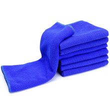 1 Piece Microfibre Auto Cleaning Cloths Blue Color 30*70 cm Car Clean Wash Towel Auto Care Tools Cloth