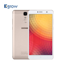 Original Doogee Y6 Max MTK6750T Octa Core Android 6.0 Mobile Phone 6.5 Inch Fingerprint 4G Cell Phones 3G RAM 32G ROM Smartphone