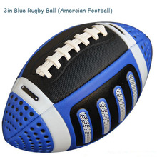 2016 New Size 3 Rugby Ball 4 Colors Suitable For Kids Children Students Young Men American Football Ball 3# American Rugby Ball
