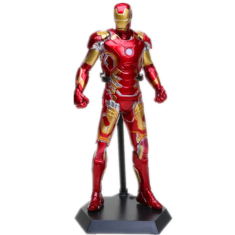 Crazy Toys Avengers Age of Ultron Iron Man Mark XLIII MK 43 PVC Action Figure Collectible Model Toy 12 30cm RETAIL BOX WU696<br><br>Aliexpress