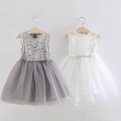 Baby Lace Princess Dress Girls Summer 2017 Korean version of the new kids children gauze  qz-3305<br><br>Aliexpress