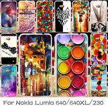 Silicone Plastic Cover Case For Microsoft Nokia Lumia 640 640XL 230 Phone Bag Shell N640 n 640 640 XL N640XL Housing Case Covers