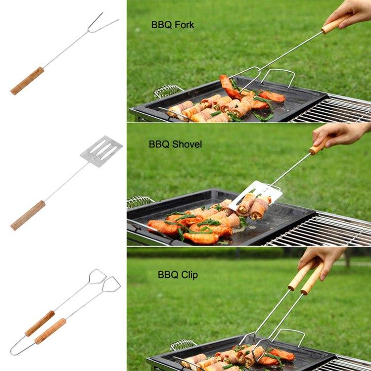 BBQ Fork Shovel Clip