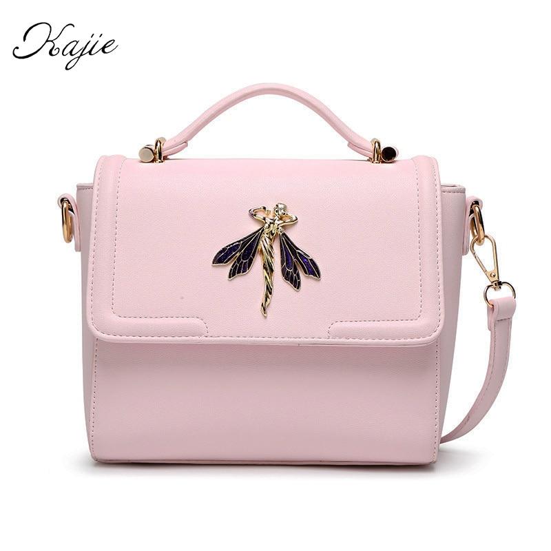 Kajie New Luxury Pink Women Messenger Bags Designer Handbags High Quality Pu Leather Fairy Tote Bag Fashion Candy Girl Flap Sac <br><br>Aliexpress