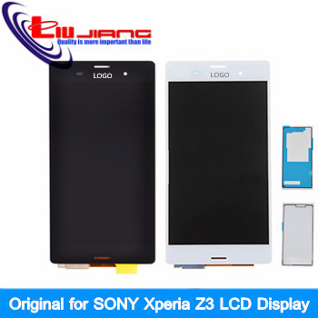 10pcs Original LCD Display For Sony xperia z3 D6603 D6653 L55t LCD Display touch screen with digitizer Assembly + Adhesive Glue<br><br>Aliexpress