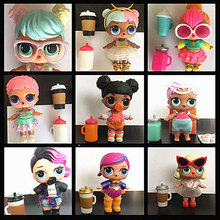 New High Quality Original mga LOL dolls, with collocation clothes, shoes and bottles(China)