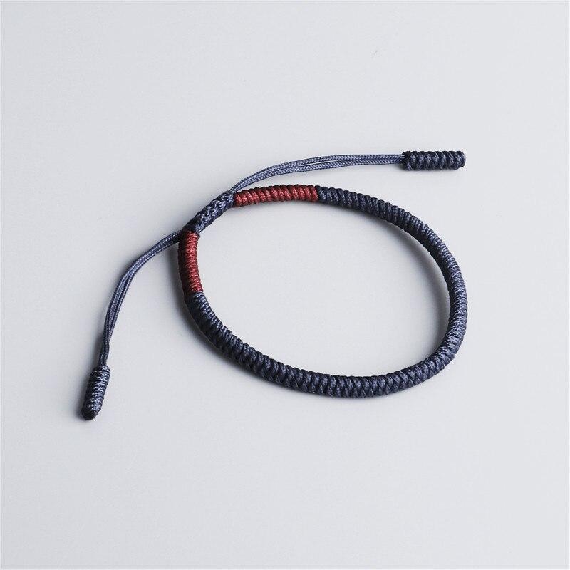 Handmade Tibetan Buddhist Lucky Rope Bracelet