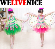 1 Pc Kids Children Costume Cosplay Butterfly Wings Magic Prop Girls Butterfly Fairy Wings Costume #7146(China)