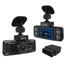 2.7 inch screen Hight quality DVR brand GT880S car camera OBD diagnosis 150 degrees Built-in GPS+WDR Parking Monitor Video Recor