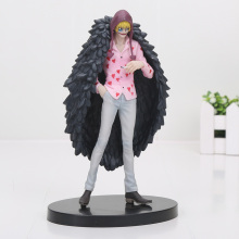 17cm One Piece Corazon Great All For My Heart Doflamingo Brother PVC Action Figure Model Toy One Piece Figure
